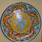 Til, decorative plates, plate