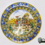 Til, decorative plates, plate with brim