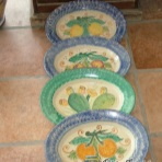 Tablewa / kitchenware, set 4 vassoio ovale