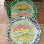 Tablewa / kitchenware, set 2 vassoio rotondo